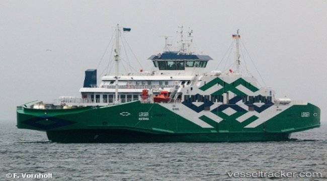 Ferry suffered bow thruster trouble