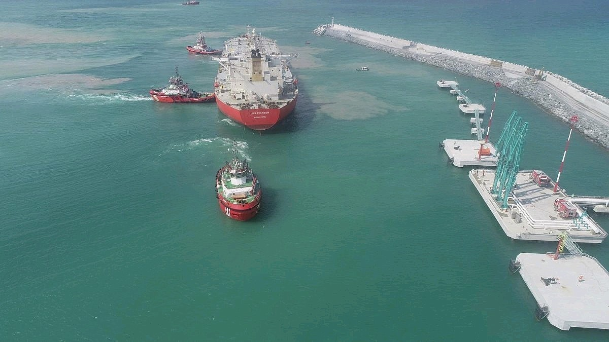 The first ship brings 63 thousand tons of fuel to Turkey's new airport