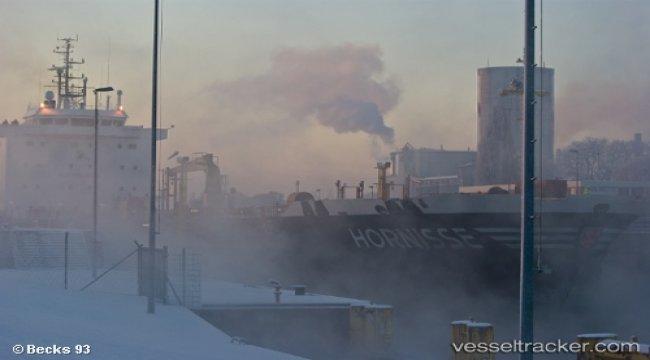 Fire on superyacht in Bremen-Vegesack