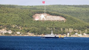 Russian Search and Rescue vessel passed through the Strait of Çanakkale