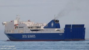 Explosion on DFDS ferry