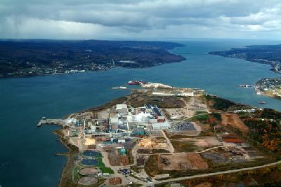 Nova Scotia port poses challenge to Panama Canal by using Suez route