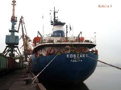 Turkish shipbreakers managed to deal single decker M/V KOBZAR I