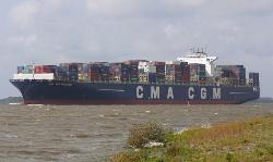 Christening of the CMA CGM World's Largest Maltese-Flagged Containership