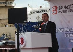 "Erdogan: ""Turkey have ended foreign dependance of military ships"""