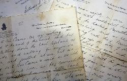 Titanic survivor letter in auction