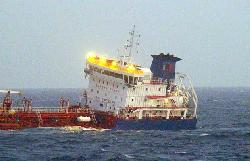 Turkish Tanker in collision at English Channel