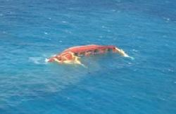 Coast Guard rescues 10 from sinking cargo ship