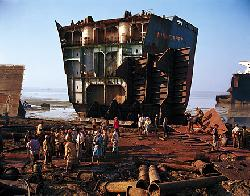 Bangladesh ship breaking industry at big stake