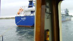 Bulk carrier Sandnes refloated