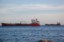 Grounded Turkish Oil Tanker Azra-S Re-floated