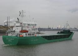 """Freighter """"Arklow Raider"""" ran aground, Ireland"""
