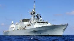 No injuries after Canadian frigate collides with U.S. ship