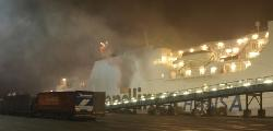 One more ferry on fire in Northern Europe