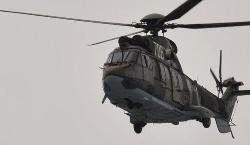 Helicopter searching, Five sailors are still missing