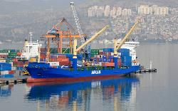 Arkas Line offers two services a week from Mersin to Russia