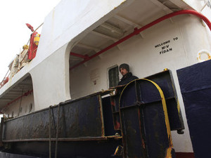 Staff from Ashdod rescued Turkish ship from the sea