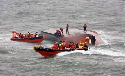 Korean ferry sank in Yellow sea