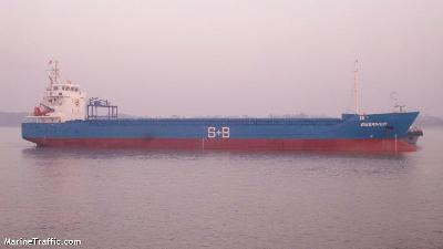 German freighter Ems River pirated in the Indian Ocean