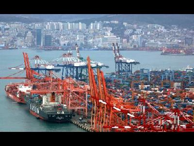 Korean ports' throughput in November hits new record