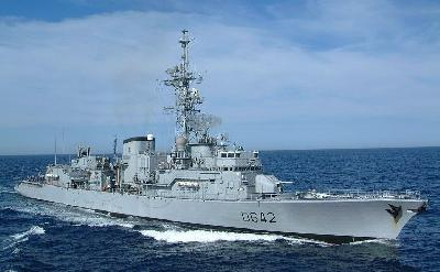 EU NAVFOR welcomes French destroyer MONTCALM