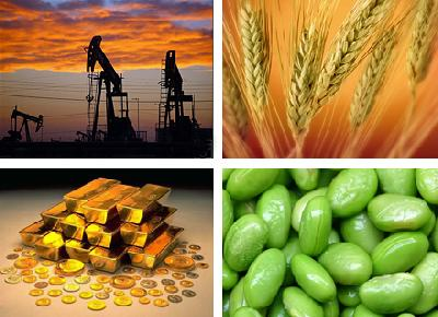 Commodities beat fin assets for a second year