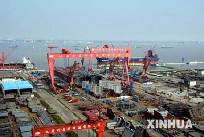 China's shipbuilders to reap RMB 40 bln in profit in 2010