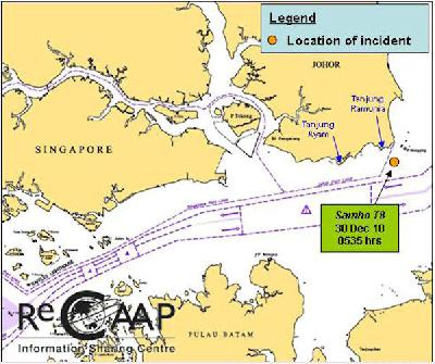 Korean tug Samho T-8 robbed in Malaysian waters