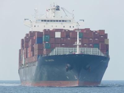 Israeli boxship collided with Chinese fishing vessel, 9 crew missing
