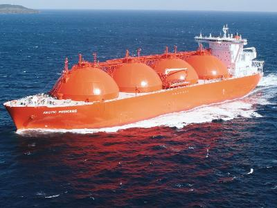 LNG Demand Increase in Asia Signals 2011 Rally.