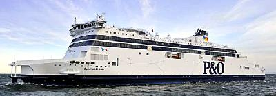 Spirit of Britain: largest ever ferry on Dover Strait