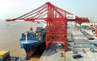 Shanghai now the world's busiest port