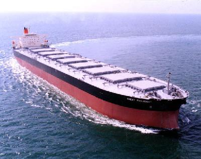 China Capesize Bookings Fell 31% Last Month