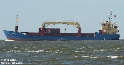 Danish freighter boarded by pirates, crew locked