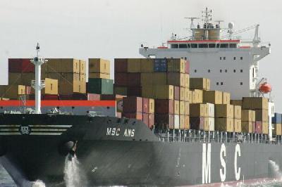 MSC raises India-Europe rates US$200 per TEU