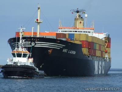 MSC takes delivery of 12,500-TEU MSC Lauren