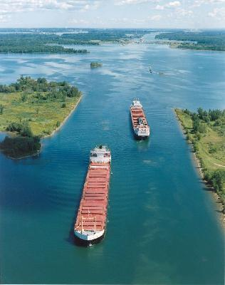 St Lawrence Seaway traffic up 15 per cent in 2010