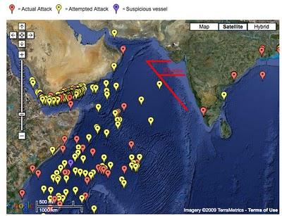 Somali pirates closer to India; premiums up
