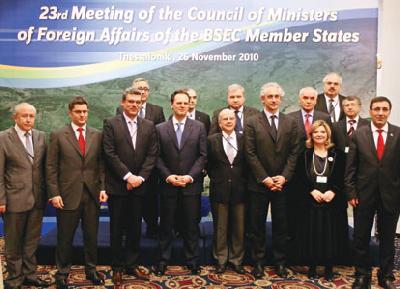 Regional efforts to shape Black Sea region