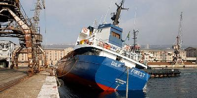 Freighter lost stability in Rijeka port