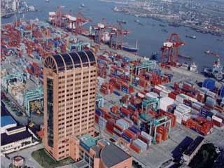 Growth at world's top five container ports slows down