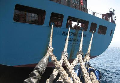 Maersk to plan optimum route by new weather tool