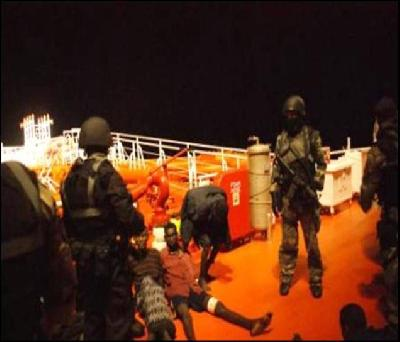 Maritime forces chief highlights ways to address piracy