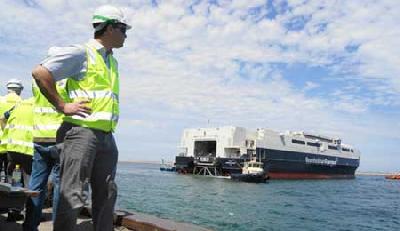 Austal Launches Its Largest Catamaran,Leonora Christina