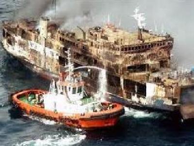 Indian fregate INS Vindhyagiri sinks after collision