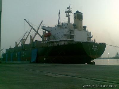 Iranian bulk carrier SININ highjacked
