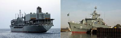 Iran naval ships enter Suez Canal, set to anger Israel