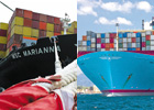 Battle for title of world's biggest shipping line heats up