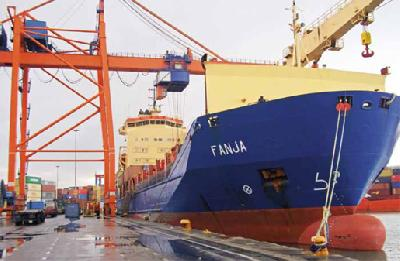 Arkas Shipping transports to the Arabian Peninsula
