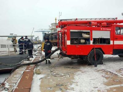 Boatswain burned in training sauna